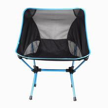 Portable Folding Chair Outdoor Camping Hiking Fishing Seat Foldable Chairs Seat for Festival Picnic BBQ with Bag Dropshiping