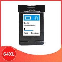 Czarny dla HP64 kompatybilny wkład z atramentem zamiennik dla hp 64 xl 64xl Envy 7800 7820 7158 7164 7855 7864 6252 6255 drukarki