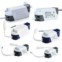 Led driver 3w-24w led unidade de alimentação AC85-265V constante atual 240ma transformadores para luzes led diy painel lâmpada driver dc