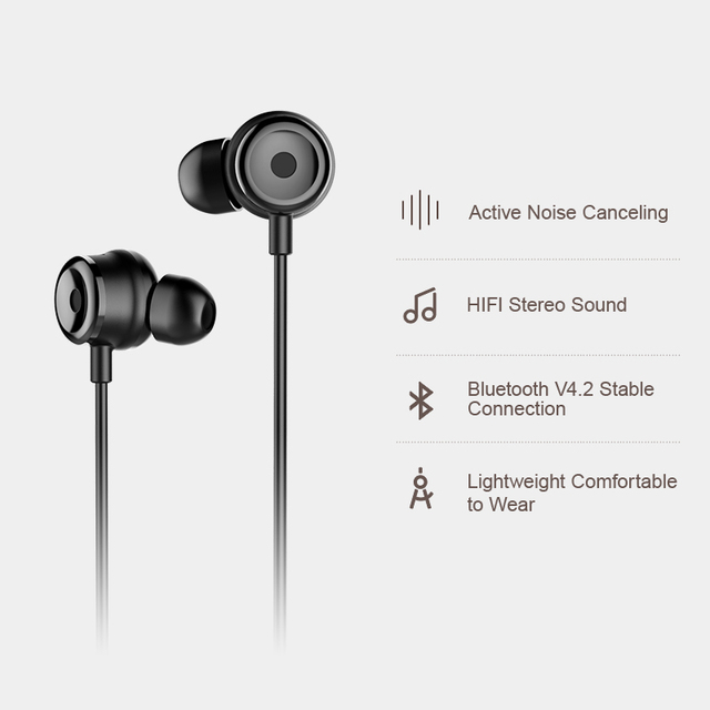 Baseus S15 Active Noise Bluetooth Earphone Sports With Magnetic Design 2
