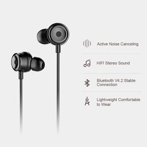 Image 2 - Baseus S15 Active Noise Control Bluetooth Earphone Wireless Earphones Bluetooth Sports Headphones With Magnetic Design Headset