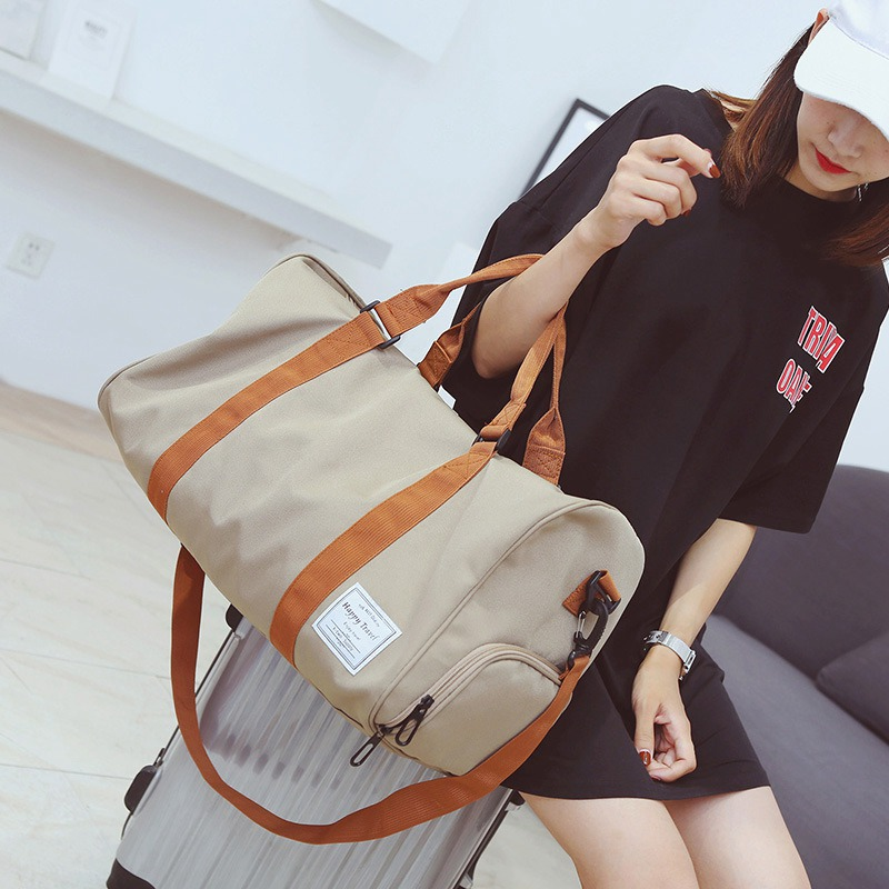 New Fashion Luggage Bag Men's and Women's Training Yoga Fitness Gym Bags Leisure Sports Travel Bags