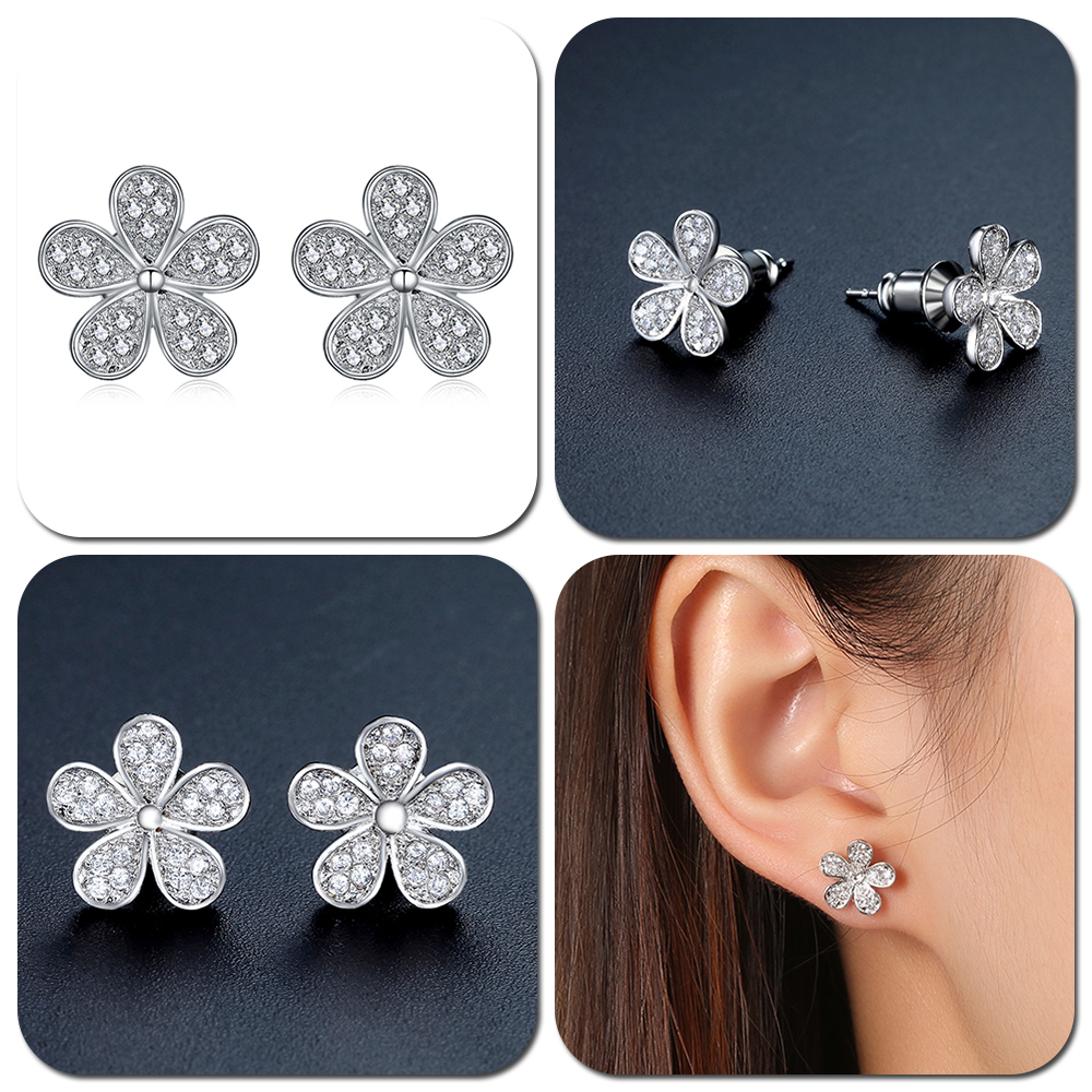 Купить с кэшбэком UMODE Pear Shape Zirconia Water Drop Post Stud Earring for Women Fashion Jewelry Brincos Pendientes Mujer Moda Oorbellen AUE0026