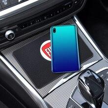 Автомобильные брелки с логотипом Противоскользящий коврик для приборной панели автомобиля мобильный телефон анти-скольжения Мат для Fiat- 500...