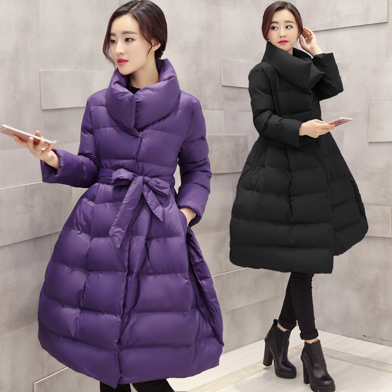 Winter Maternity Clothing Fashion Warm Down Parka Pregnant Long Outerwear Maternity Women Winter Coat Clothing