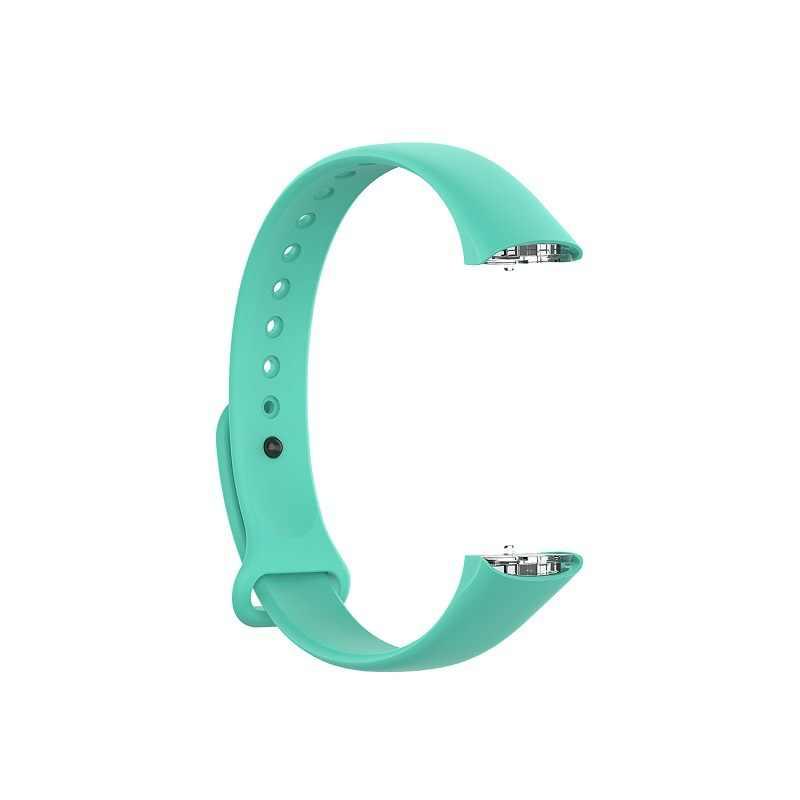 Adatto Per Samsung Galaxy Fit SM-R370 Nail Fibbia In Plastica Shrapnel Cinturino di Colore Solido Cinghia Braccialetto