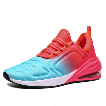 Spring New Air Cushion Shock-absorbing Running Shoes Men and women Sneakers Set-up Autumn Men's Sports Shoes 8-3