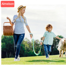 aimeison New Upgrade Anti Lost Wrist Link Toddler Rope Leash Safety Harness Baby Strap Children Walking Hand Belt Band