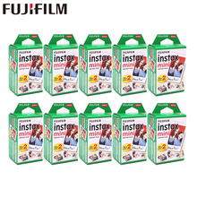 20-200 листов Fuji Fujifilm instax mini 9 8 пленок белый край пленки для мгновенной мини 9 8 7s 25 50s 9 90 камера Sp12 фотобумага
