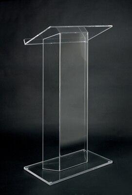 Free Shiping Hot Sale Modern Acrylic Lectern/High Quality Acrylic Podium Cheap Church Podium