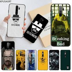 Breaking Bad Chemistry Walter белый черный чехол для телефона Корпус для Redmi Note 9 8T 8A 7 6 6A Go Pro Max Redmi 9 K20 K30