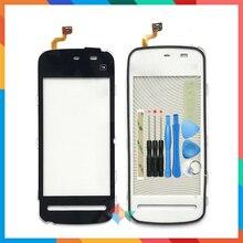 """คุณภาพสูง 3.2 """"สำหรับ Nokia 5228 5230 5232 N5230 หน้าจอสัมผัส Digitizer เลนส์กระจกด้านหน้าเซ็นเซอร์"""