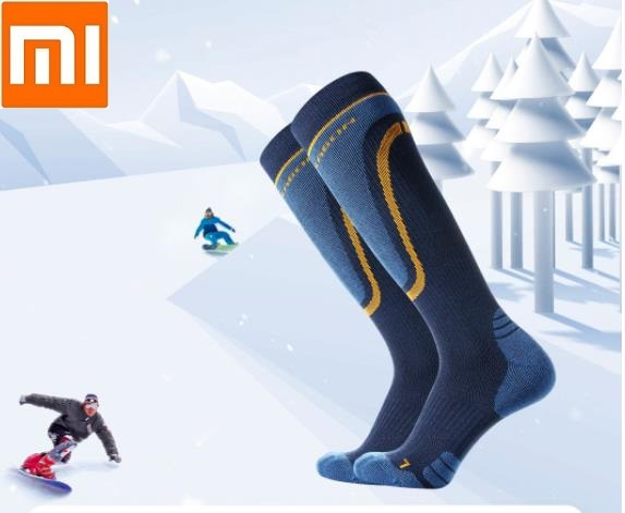 Xiaomi Knee High Socks  profession  Ski Skating  Sports Wool Socks Keep Warm Breathable Long Tube Leg Socks