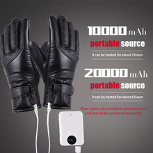 Electric Heating Gloves Winter Motorcycle Riding Warm Gloves USB High Heat Constant Temperature Thermal Heating Gloves Drop Ship