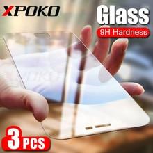 3 sztuk HD szkło hartowane dla Samsung Galaxy A3 A5 A7 J3 J5 J7 2017 pełna ochrona ekranu dla Samsung A5 A3 A7 2018 9H folia szklana