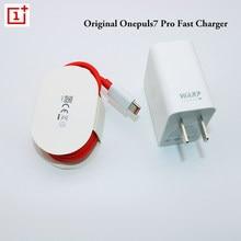 Oneplus original warp carregador 30 potência warp 30 w ue carregador adaptador de carga cabo de embarque rápido 30 w para oneplus 7 7t pro 6t 6 5t 5