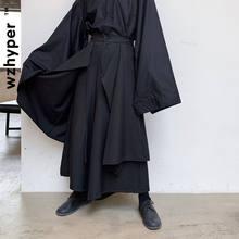 Черные уличные штаны шаровары в стиле Харадзюку мужские брюки