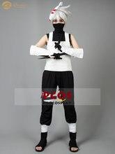 Костюм для косплея Какаси хатакэ из «Наруто» обувь и маска униформа