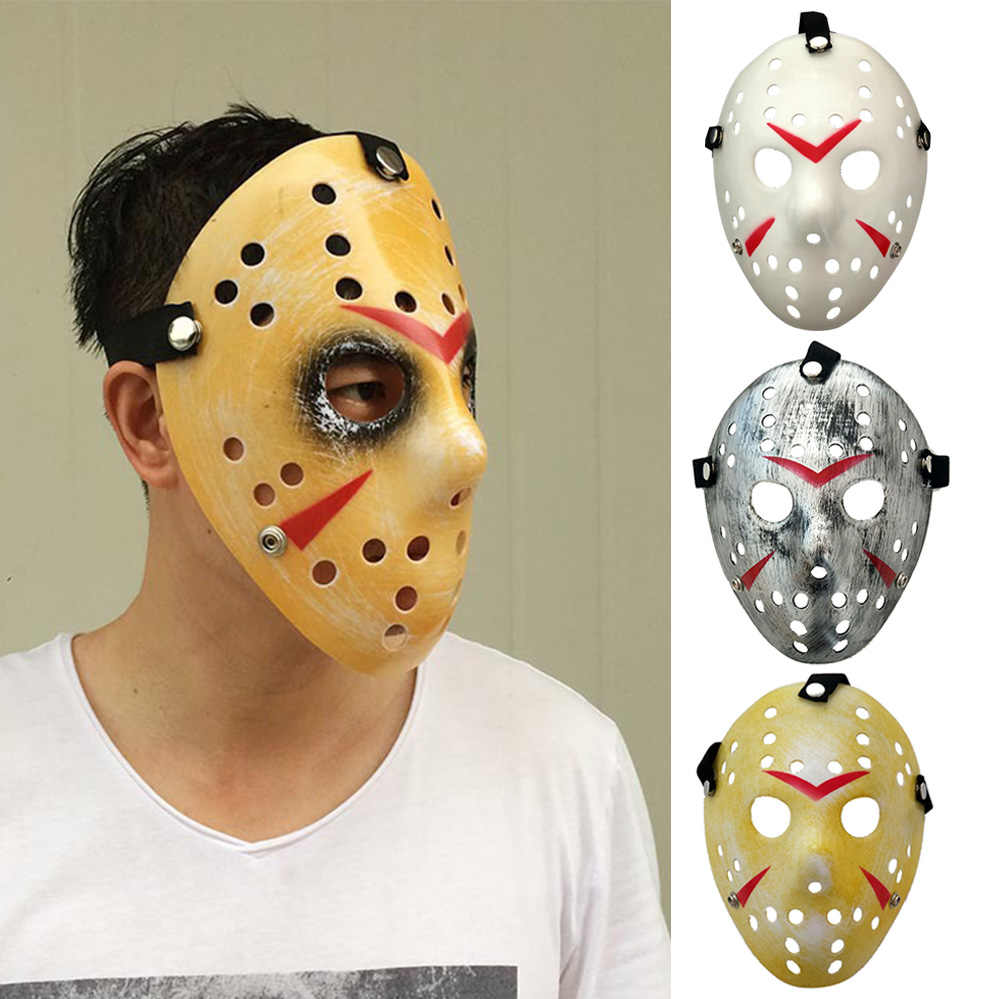 1pcs/lot Black Friday NO.13 Jason Voorhees Freddy hockey festival party Halloween masquerade mask (adult size)