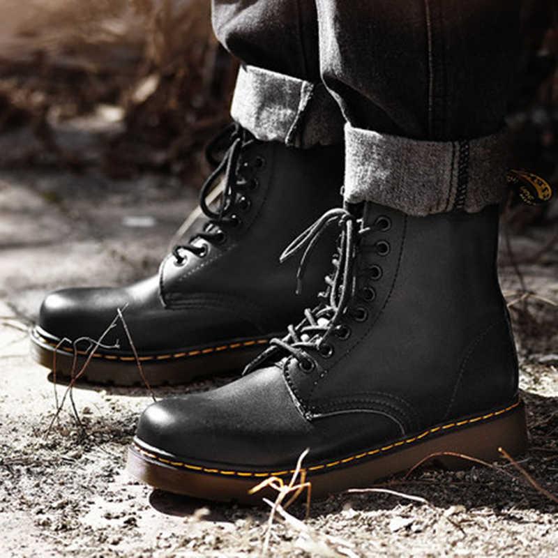39-46 Nam Giày Thương Hiệu Thời Trang 2019 Thoải Mái Giày Da # NX1460
