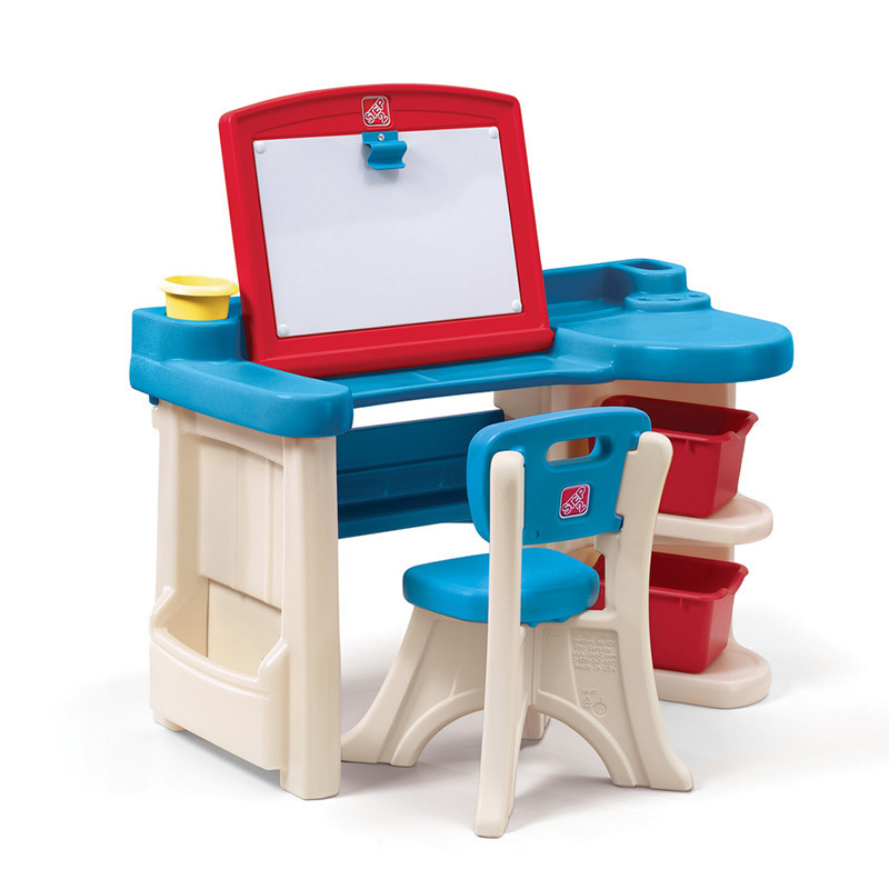 America Import Toy Step2 Furniture Series Children Plastic Drawing Board Multi-functional Studio 843100