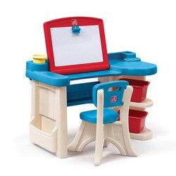 Amerika Import Speelgoed Step2 Meubilair Serie Kinderen Plastic Tekentafel Multi-functionele Studio 843100