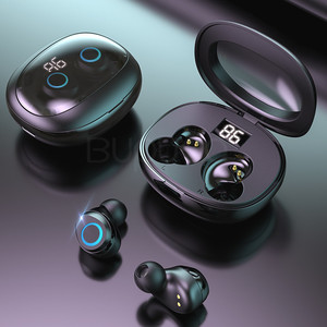 Image 1 - 9d 스테레오 미니 무선 블루투스 이어폰 (마이크 터치 컨트롤 포함) 블루투스 헤드폰 안드로이드 용 슈퍼베이스 헤드셋