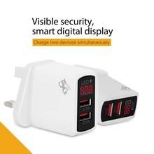 Digital display 2USB mobile phone charger