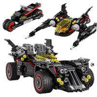 Compatible Legoinglys Marvel Super Heroes Batman Movie Ultimate Batmobile 07077 07111 App controlled Set Kids 70917 Building