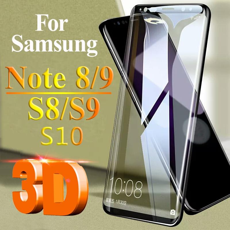 Защитное стекло для samsung s10 plus s10e lite s9 s8 note 9 8 закаленное стекло Защита экрана на galxy s 10 9 8 аксессуары пленка