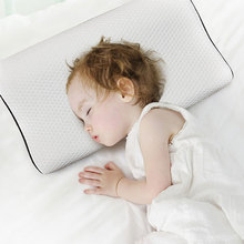 White memory foam pillow a dormitory pillow for male and female adult college students comfortable health care helpful for sleep