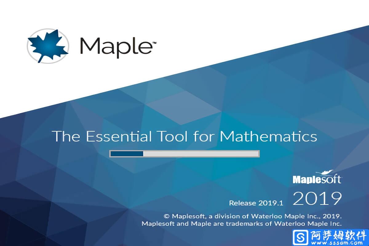 Maple 2019 强大的数学计算和模型分析工具免费版