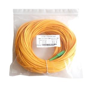 Image 5 - 무료 배송 sm sx pvc 3mm 50 meters sc/apc 광섬유 점퍼 케이블 sc/APC SC/apc 광섬유 패치 코드