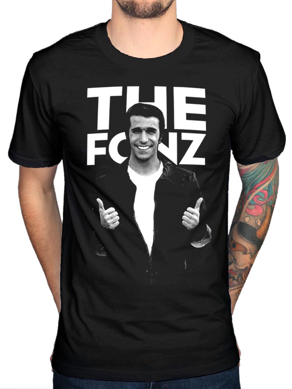 Henry Winkler New Retro Tee Shirt unofficial Happy Days inspired Fonz T shirt