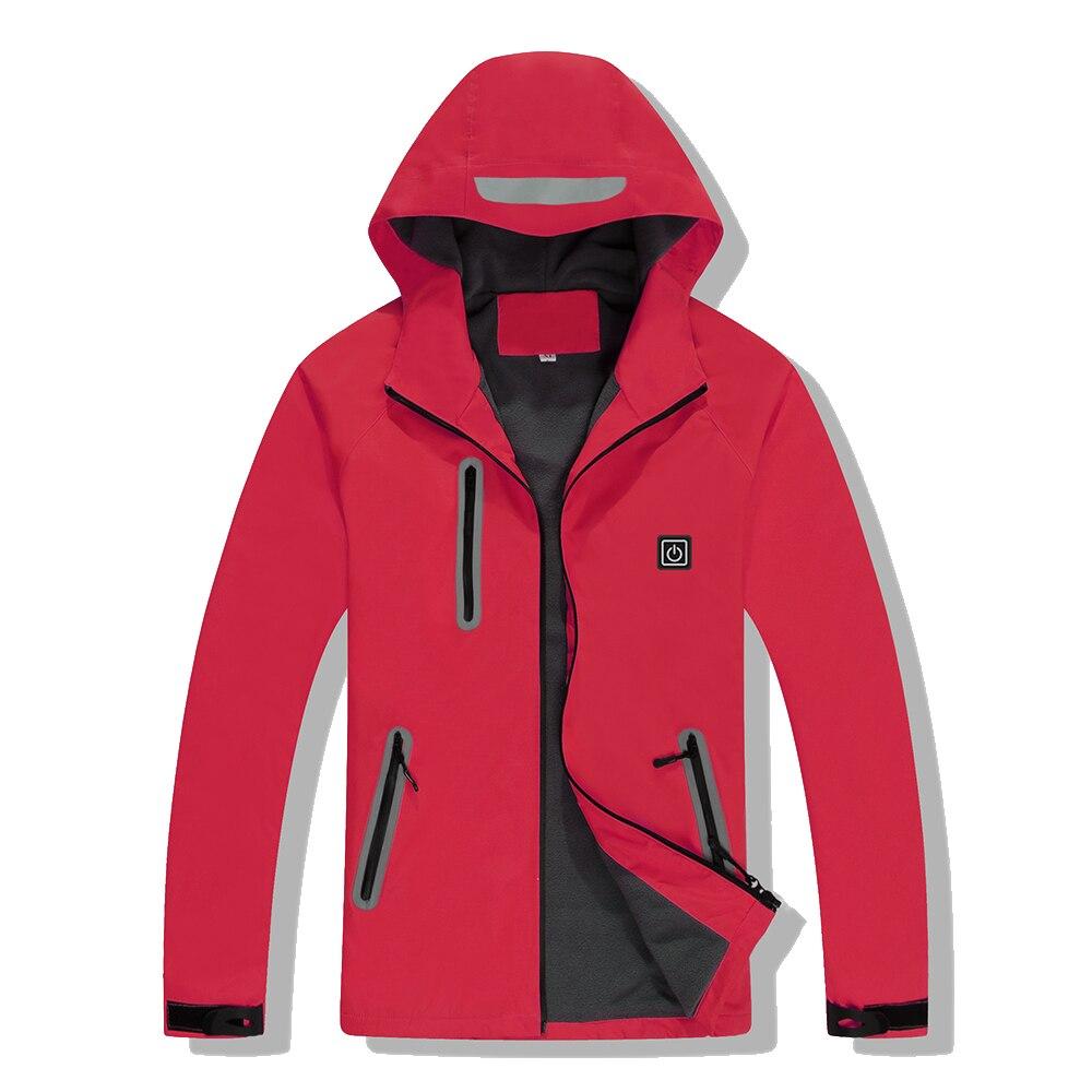 Heated-jacketSportswear Outdoor Heating Waterproof Windproof Men and Women Winter Jacket Couple Models winter jacket women
