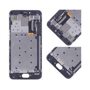 Image 4 - Pantalla LCD ORIGINAL de 5,2 pulgadas para MEIZU Pro 6 MONTAJE DE digitalizador con pantalla táctil para Meizu Pro 6, reemplazo de Marco M570Q M570 M570M