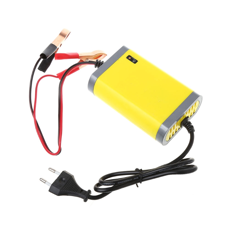 12V 2A Car Motorcycle Smart Automatic Battery Charger Maintainer Trickle EU/US Plug U1JF