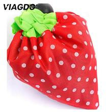 Straberry Grocery Store Retail Shopping Carry Out Bag Recyclable (Random