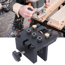 Сверла для зенковки 3-в-1 деревообрабатывающий шаблон для сверления отверстий из джинсовой ткани с низким вырезом на устройство Doweling руководство по сверлению комплект lavorazione legno