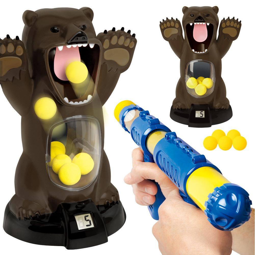 espuma bola tiro bomba de ar brinquedo 03