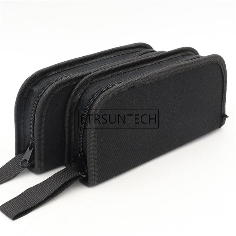200pcs/lot Oxford Cloth Toolkit Bag Screws Nuts Drill Hardware Car Repair Kit Handbag Utility Storage Tool Bags Pouch Case