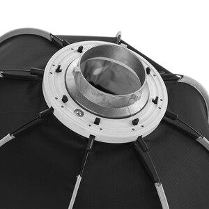 Image 4 - Triopo K90 90cm fotoğraf taşınabilir Bowens dağı sekizgen şemsiye Softbox + petek ızgara açık yumuşak kutu stüdyo flaş ışığı için
