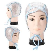 2 pçs/1 conjunto de touca de tingimento de cabelo + gancho escova tampa de silicone coloração destacando matiz capa protector diy uso doméstico ferramentas de cabelo salão beleza