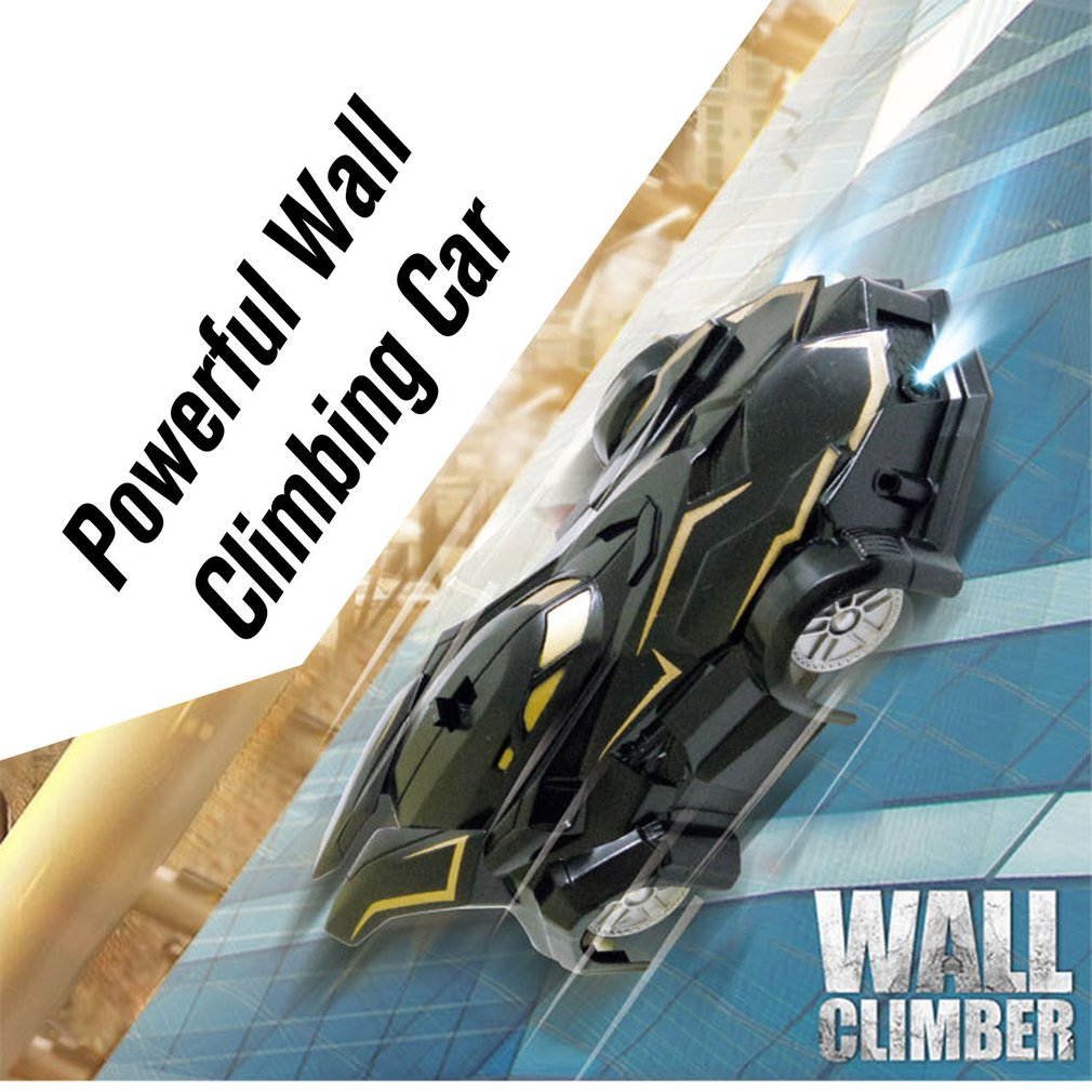 MX-04 RC Car Wall Racing Car Toys Powerful Wall Climbing Remote Control Car Radio Controlled Stunt Racing With <font><b>Led</b></font> Xmas Gift image