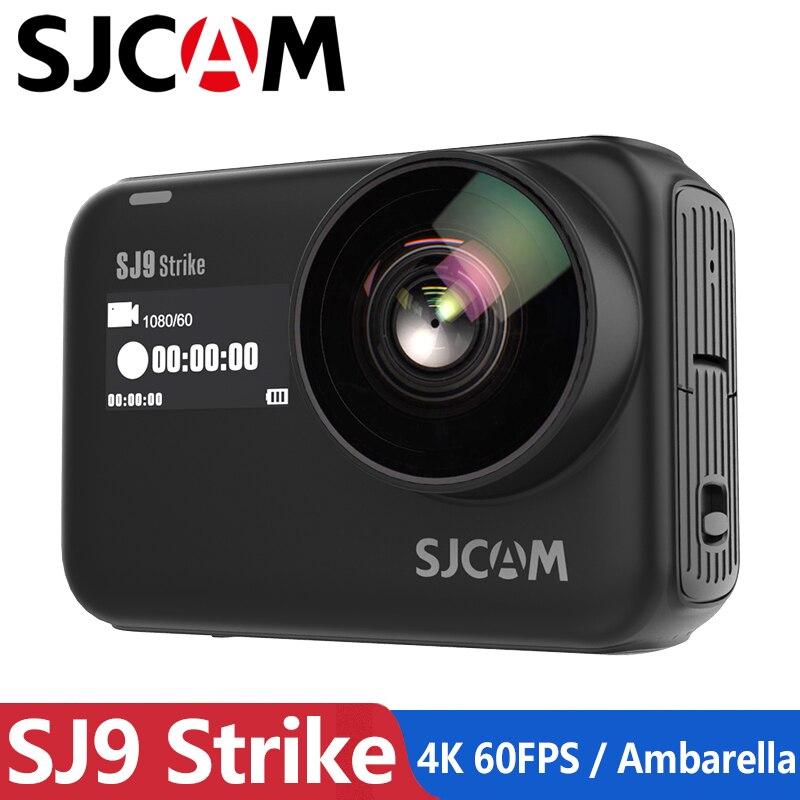 En stock! Original SJCAM SJ9 STRIKE 4K caméra d'action écran tactile en direct Streaming gyroscope/EIS stabilisation Sport étanche DV