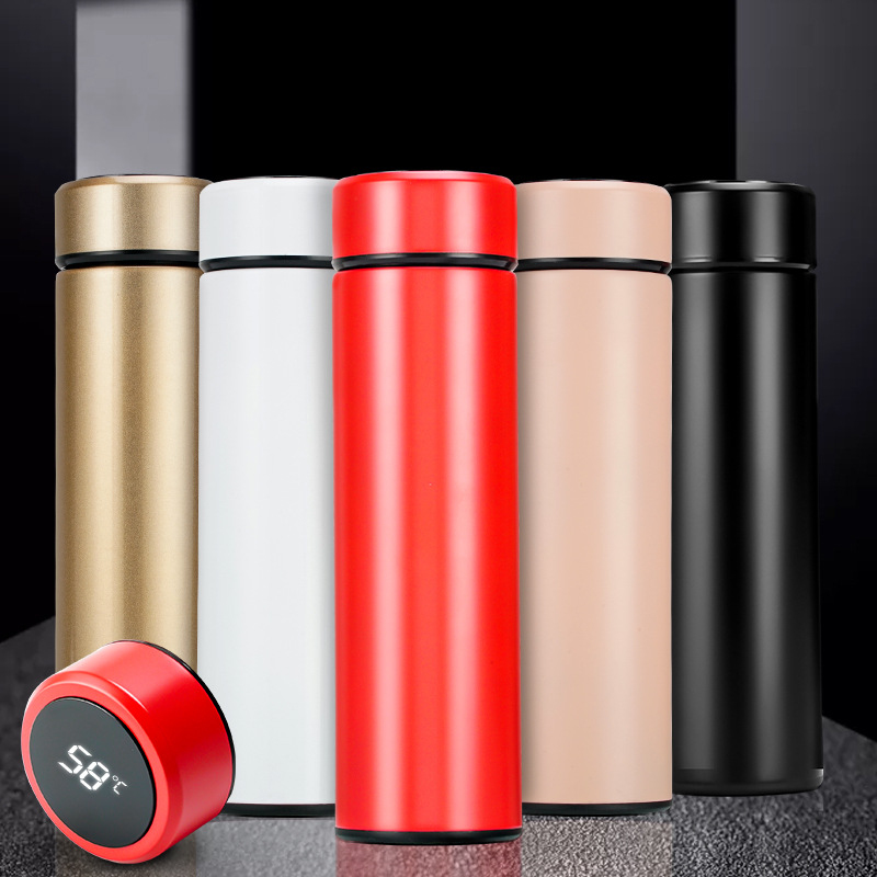 500ml Stainless Steel Vacuum Bottle With Intelligent Temperature Display 1