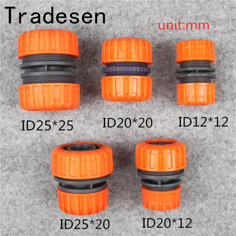 ABS 25mmTo 20mm Variable Water Hose Quick Connectors Water Supply Pipe Repair Connector Garden Irrigation Tube Fittings