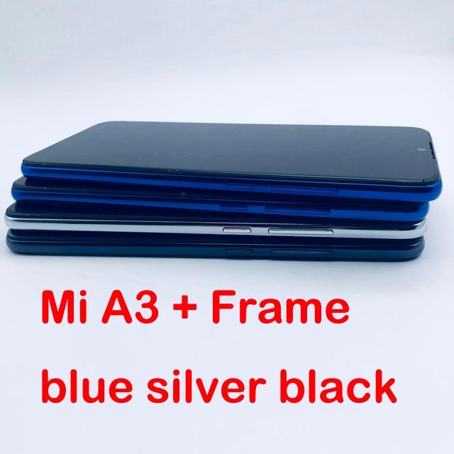 100% מבחן 6.01 LCD תצוגה עבור Xiaomi Mi A3 CC9E LCD Digitizer מסך מגע עצרת עבור Xiaomi MiA3 תצוגה