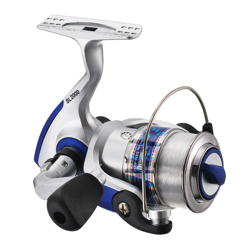 Lightweight Fishing Reel Right hand Ratio 5.5: 1 5 BB Bait Cast reel Spinning Lure Tackle 2000 Series