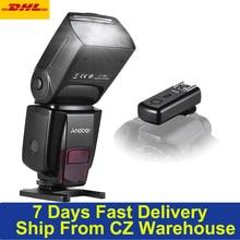새로운 Andoer AD560 IV 2.4G 무선 범용 온 카메라 스피드 라이트 플래시 라이트 GN50 w/ FlashTrigger for Canon Nikon for Sony DSLR